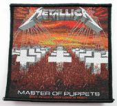 Metallica - 'Master of Puppets' Woven Patch
